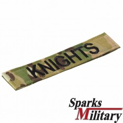 US Military Name Tape in OCP Multicam with Velcro
