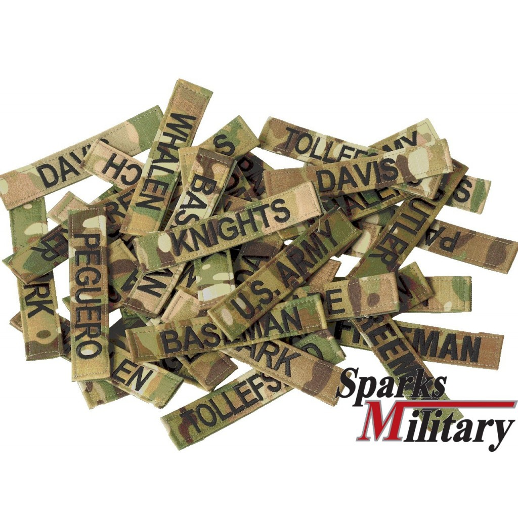 9ba817952d4b US Military Name Tape in OCP Multicam Camouflage Color with Velcro buy