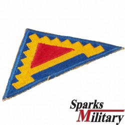 Seventh United States Army, cut edge Patch old german made