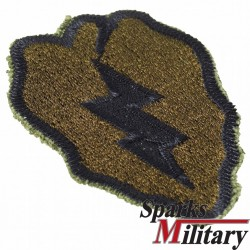 25th Infantry Division cut edge Patch in Subdued