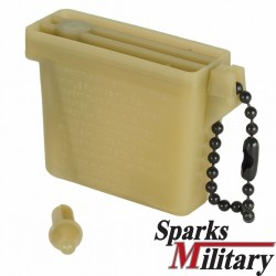 US Army storange Case for Ear Plug Inserter, Plastic