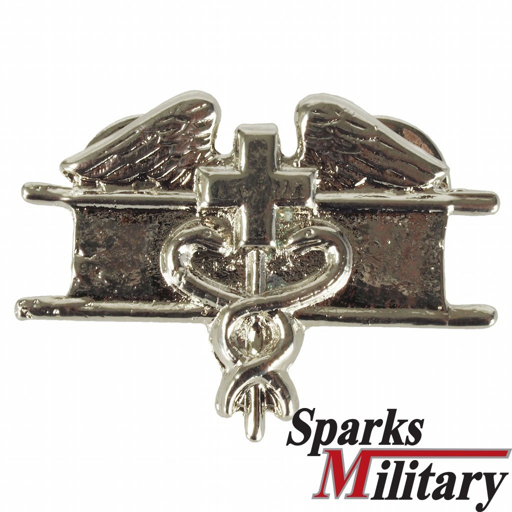 Us Military Metal Field Medical Badge In Silver Buy At