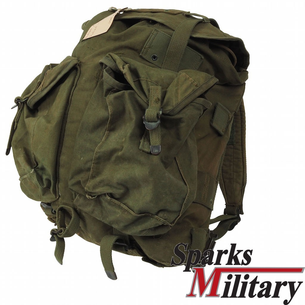 ARVN cotton Backpack in od green