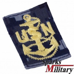 Navy Petty Officer Rank for NWU Type 1 Uniform