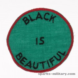 Vintage Black is Beautiful Patch. 70s Black Power Sew On Patch. Red Green and Black Afro American. Black Panthers. Sixties.