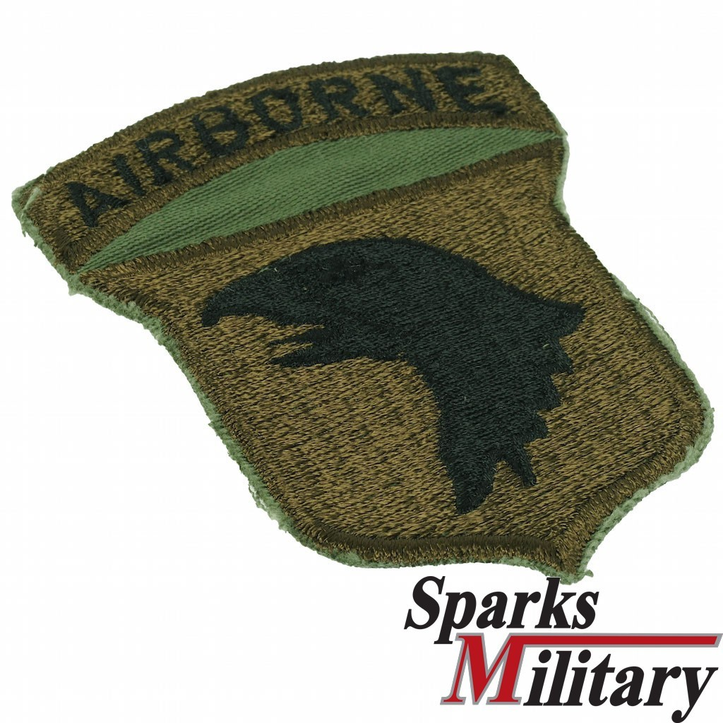 101st Airborne Infantry, cut edge Patch old German Made