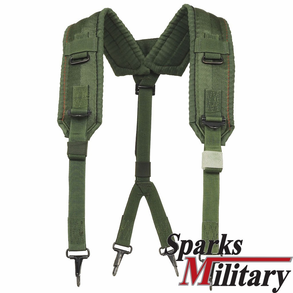 LC2 Alice Y Nylon Suspenders of US Army with metal Clips