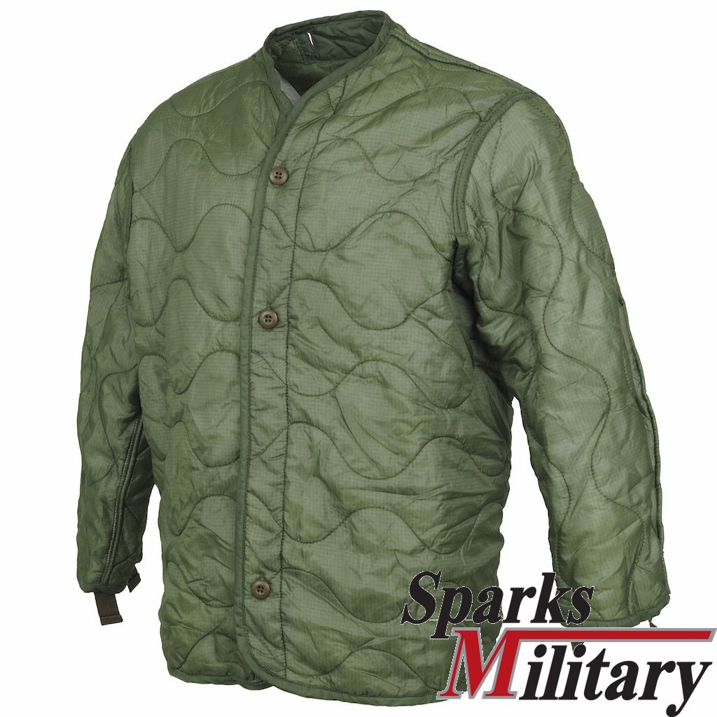 M65 Field Jacket or Parks Liner, Cold Weather