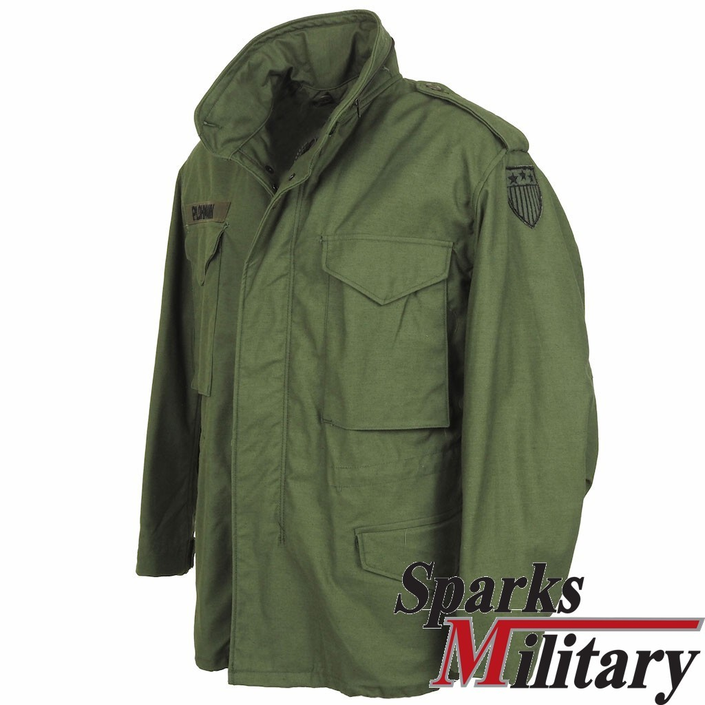 M65 Field Jacket Medium Short, 6970th CSC, Dated: 1989