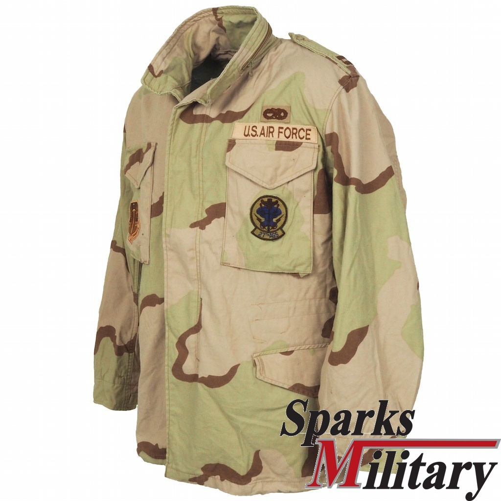 M65 Field Jacket Medium-Regular Air Force TAC Captain