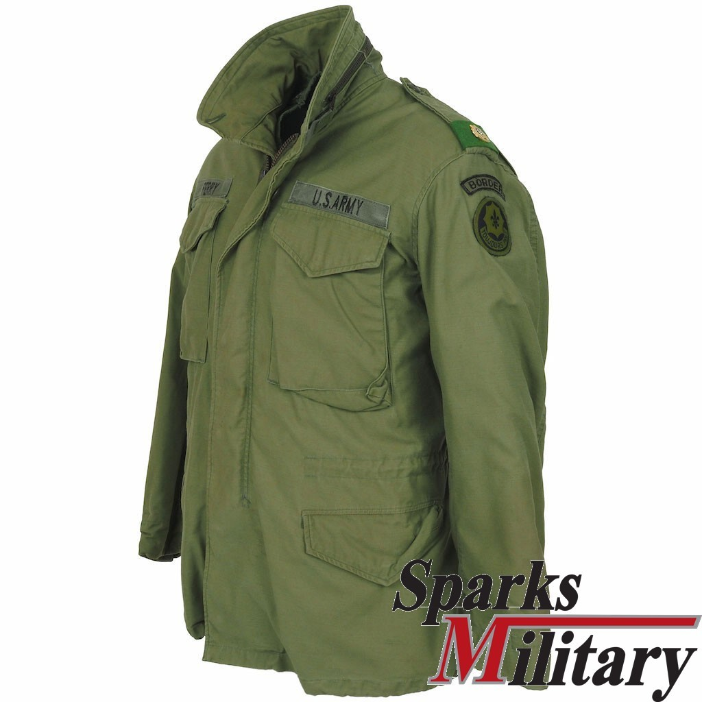 US Army M65 Field Jacket Small-Regular 2nd ACR Border ...