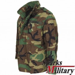 M65 Field Jacket Woodland Size: Small-XShort