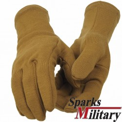 Outdoor Research US Military Hurricane Gloves 100% Wool in Coyote brown