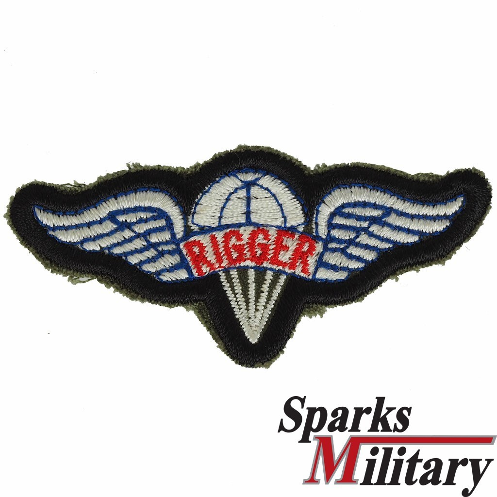 Us Army Parachute Rigger Badge In Color To Sew On Buy