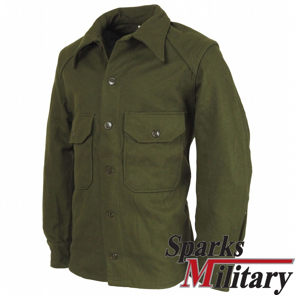 Vintage Us Army M 1951 Field Wool Shirt Buy At Sparks