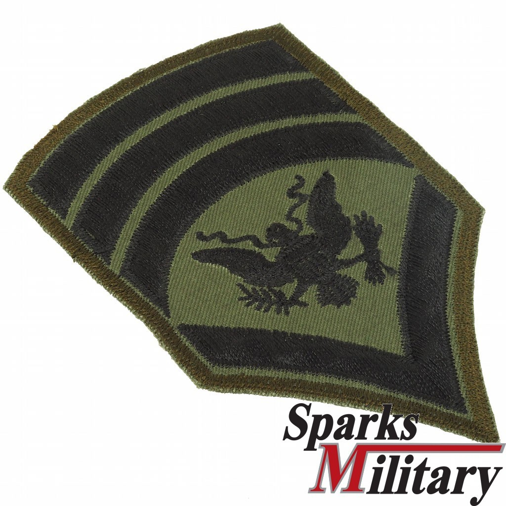 US Army Specialist 8 Rank Insignia SPEC 8, E8 Chevron