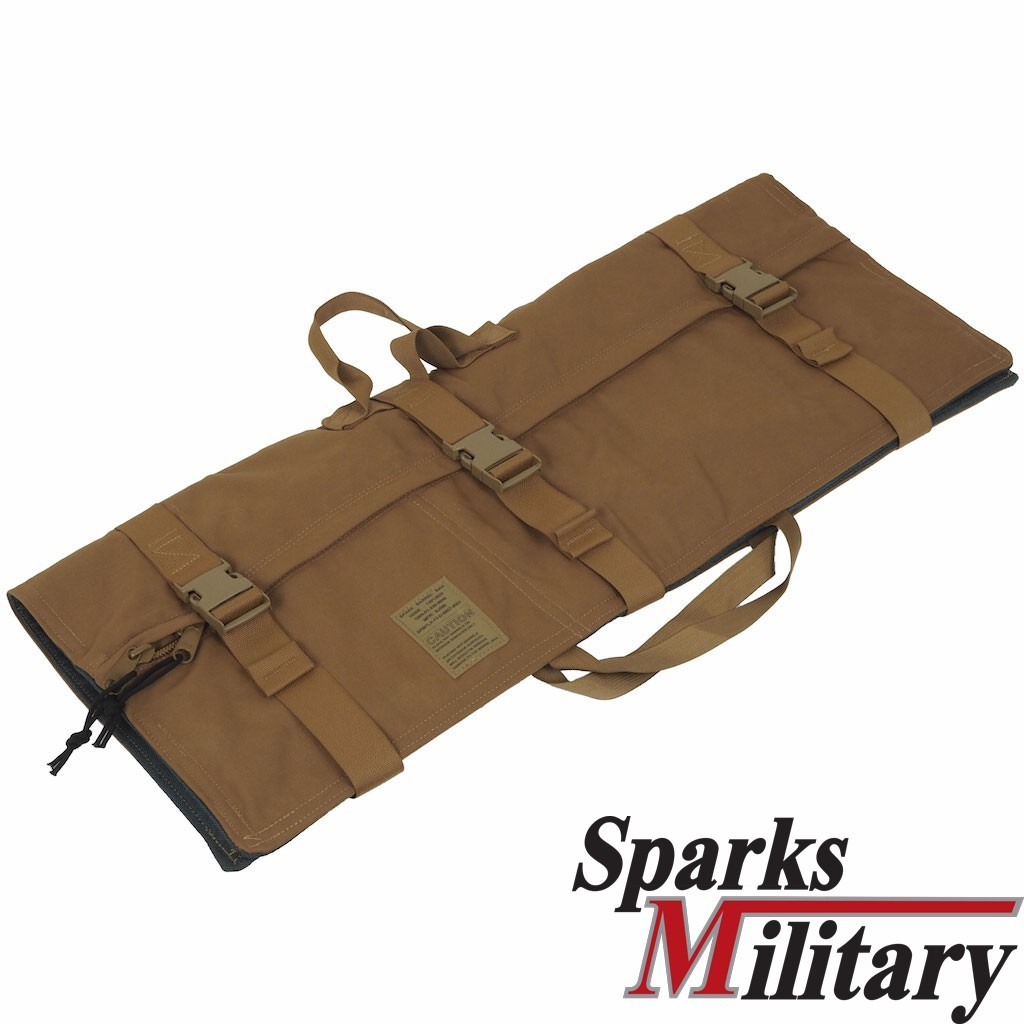 Spare Barrel Bag in Coyote for M-249 or M-240 Machine Gun of US Army
