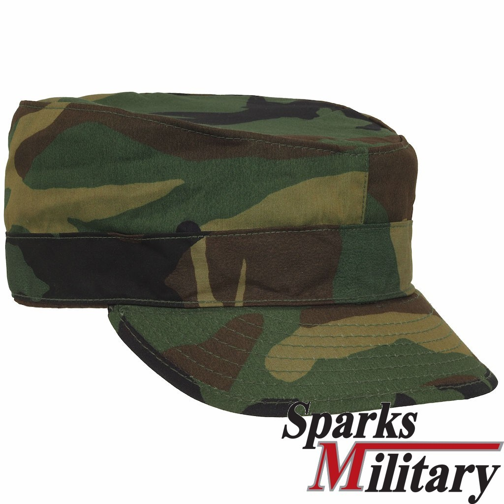 Original US Army BDU Cap Field Cold Weather with ear flaps
