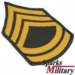 US Army Rank Insignia Platoon Sergeant or First Sergeant Class A