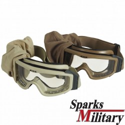 ESS NVG Profile Military Ballistic Goggles in sand or Coyote