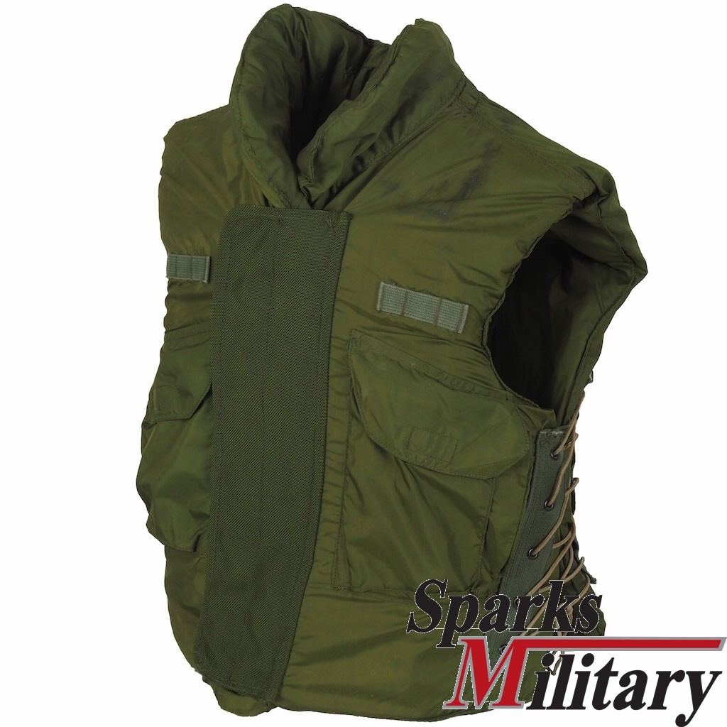 US Army M-69 Body Armor ,Fragmentation Size Small from Desert Storm