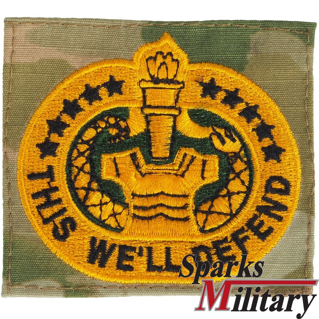 Us Army This We Ll Defend Qualification Badge In Ocp