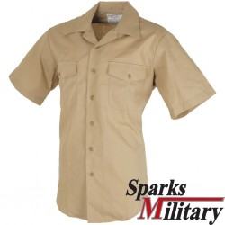 US Navy Khaki Shirt short sleeve