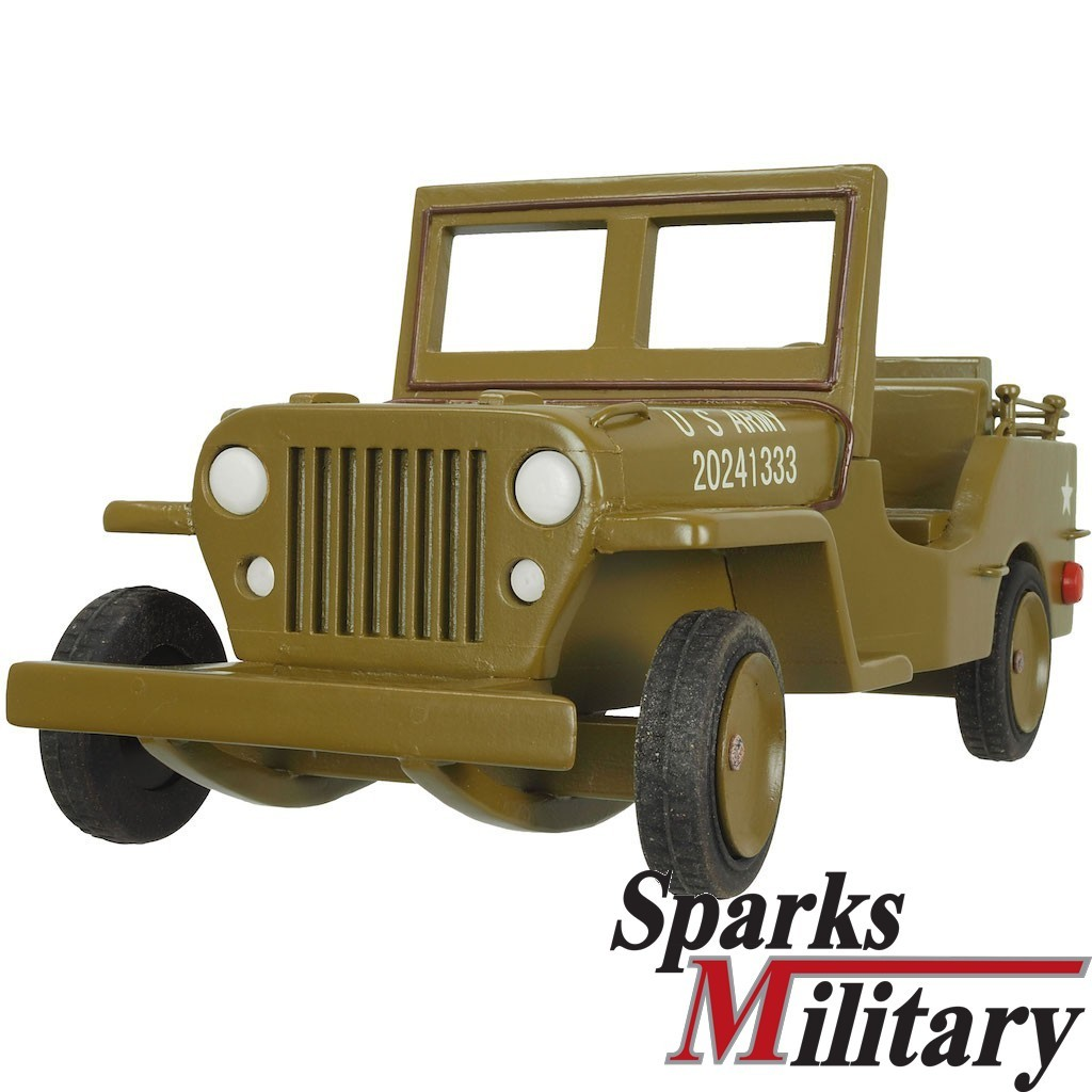 Willys Jeep aus Holz