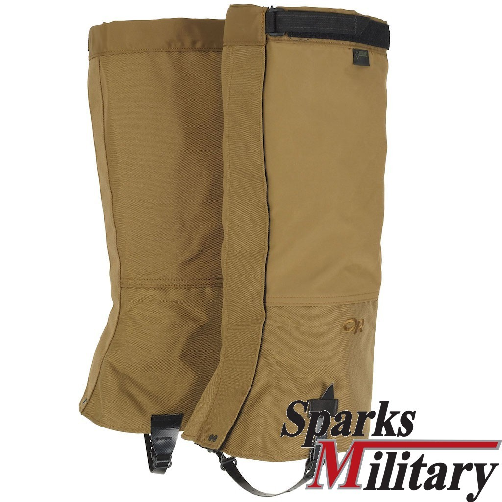 US Military Outdoor Research Expedition Crocodiles Leg Gaiters