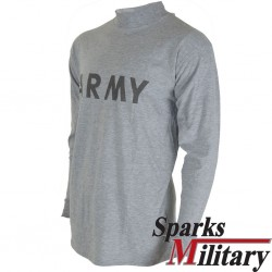 US Army Physical Training Shirt long sleeve