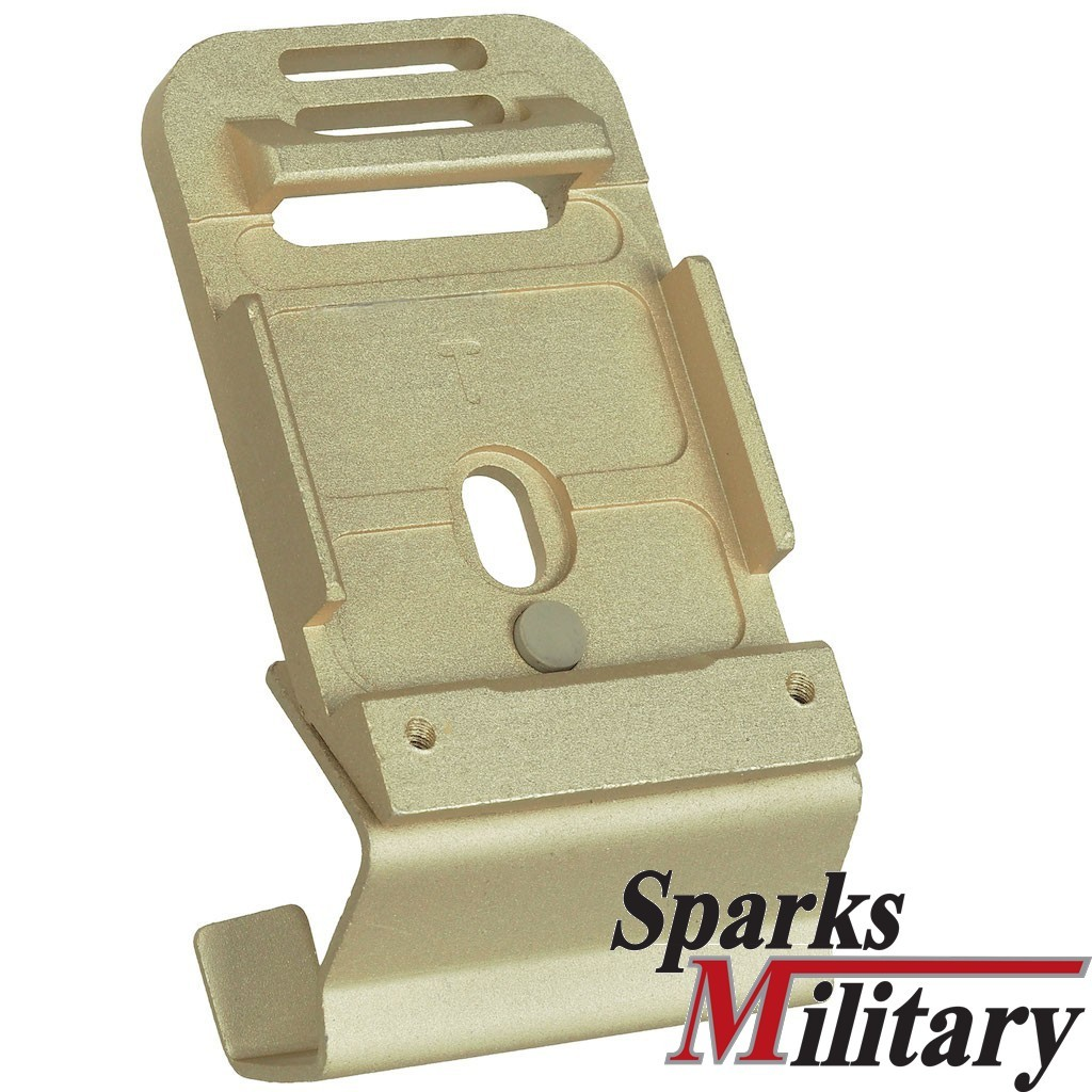 Norotos NVG Helmet Adapter Plate in Sand for OCP Scorpion Pattern