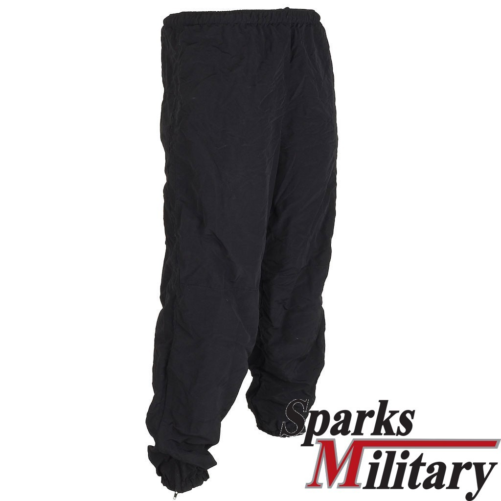 US Army IPTU Sport Trousers long with pockets in black made by nylon