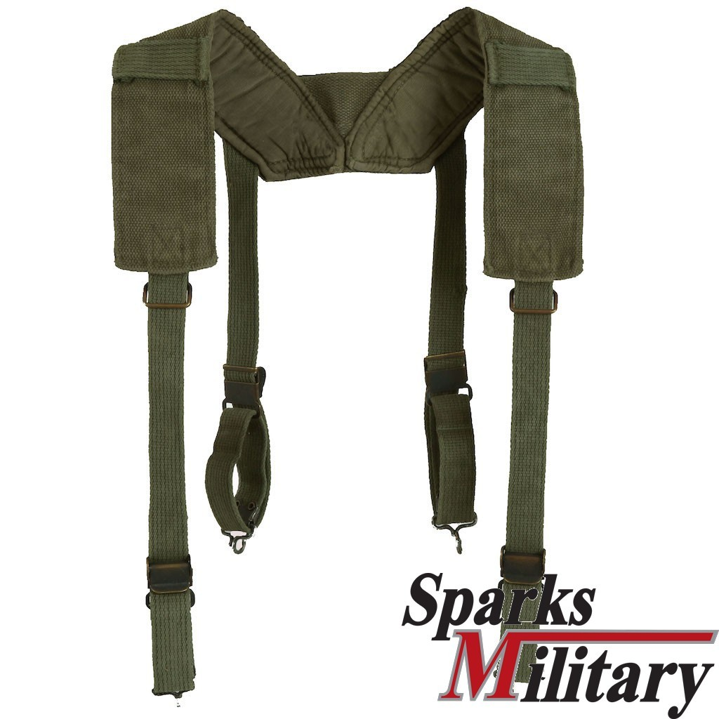 US Military M-1956 Suspennders Field in Canvas from Vietnam War periode