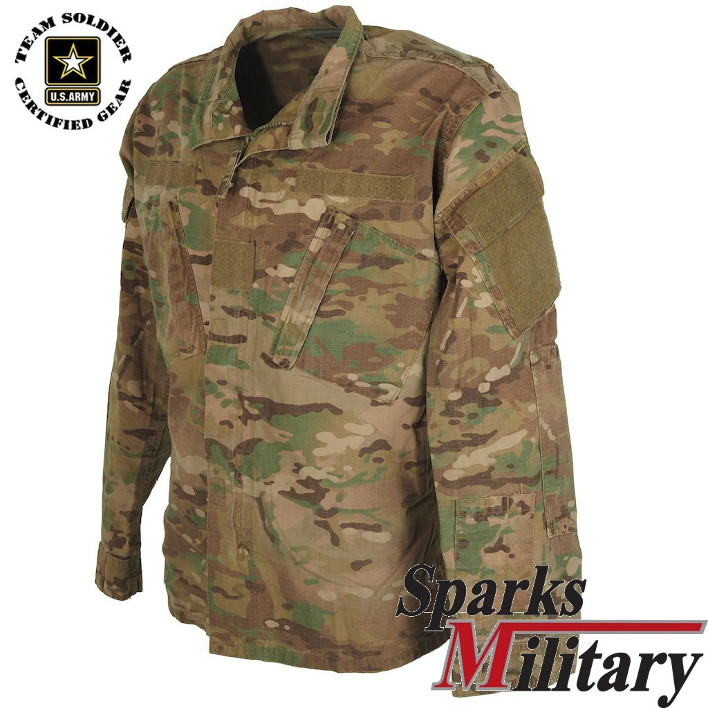 US Military Multicam Shirt or Coat used Condition by Team Soldier