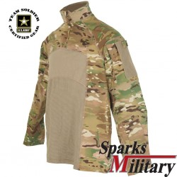 US Army Combat Shirt Flame Resistant Multicam