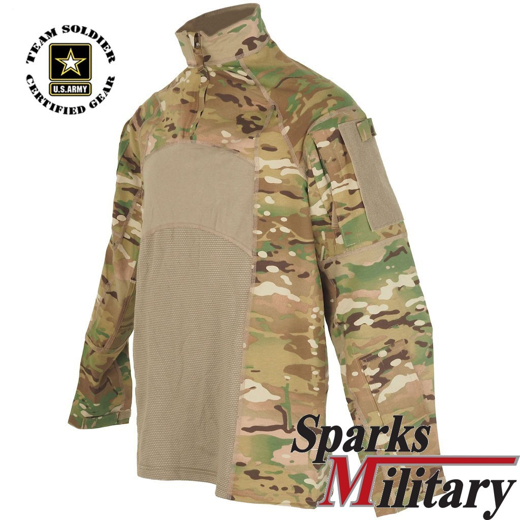 Multicam Combat Shirt Uniform Hemd 2 Gen Made In Usa