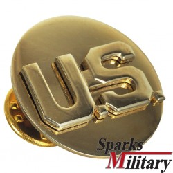 U.S. Collar Disc Truppengattung Kragen Abzeichen in gold BOS oder branch of service