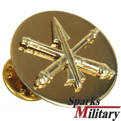 US Army brass BOS Air Defense Artillery Collar Disc for pin on