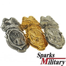 Military Police Metal Badge