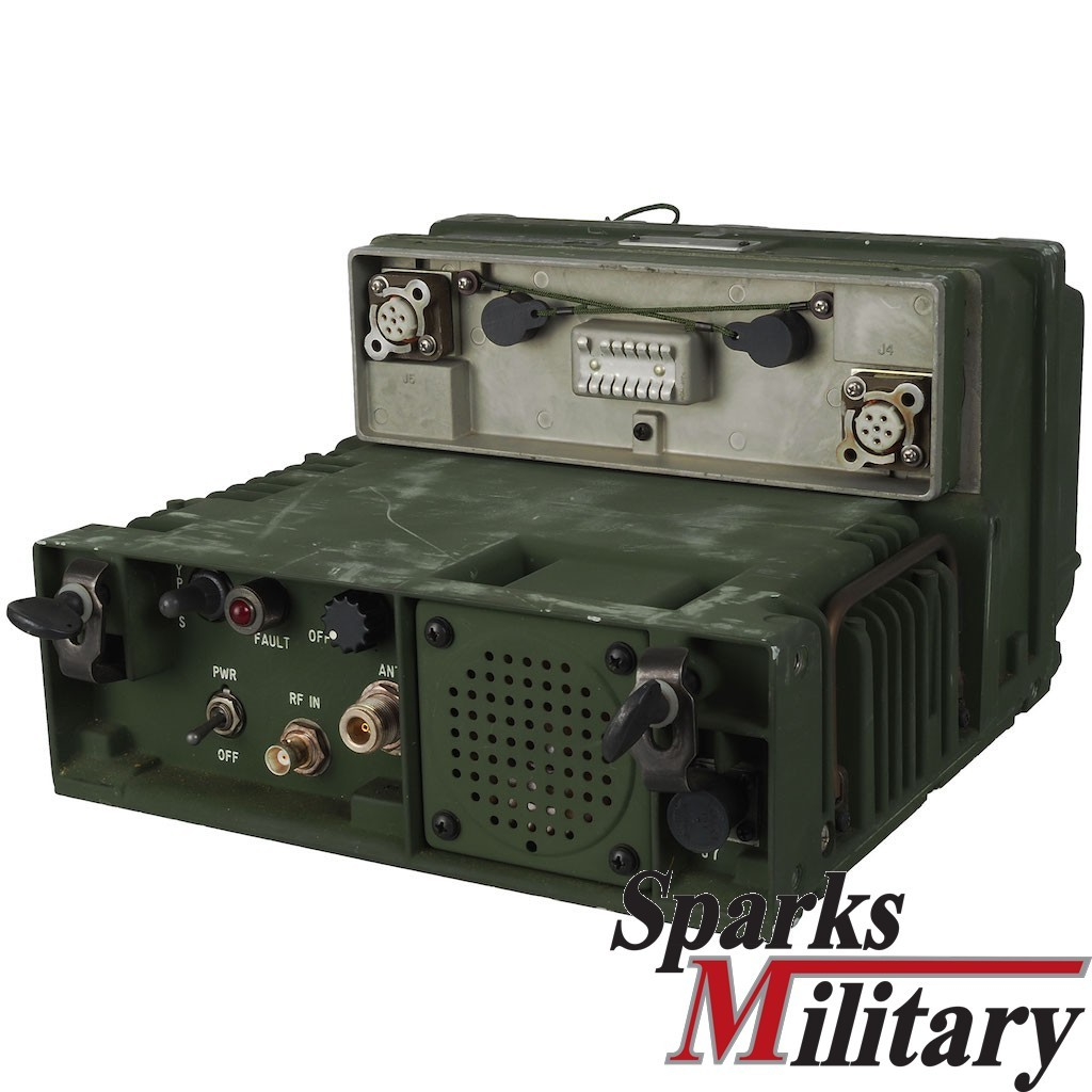 US Military AM-7176A VHF/UHF AM RF Amplifier Vehicle Mount for PRC-113