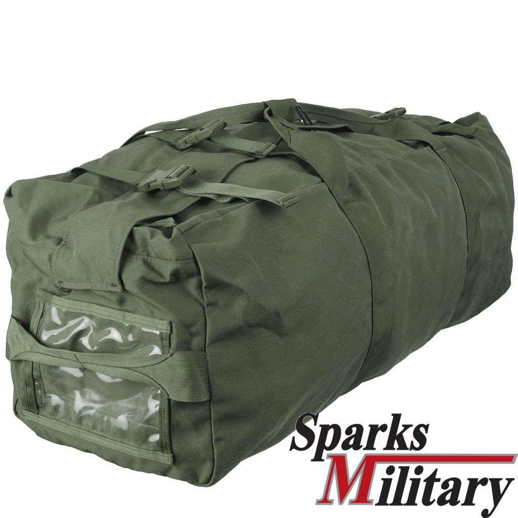 US Militär Seesack Duffel Bag Green neues Model