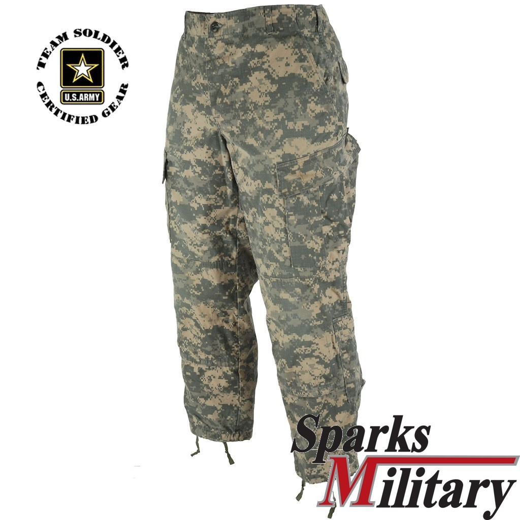 US Army UCP Digital ACU Combat Trousers used Condition