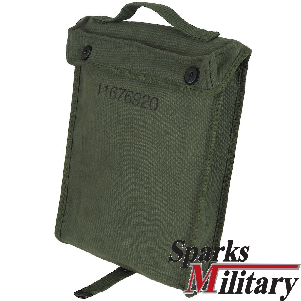 US Military Manual and Document Canvas Bag for Vehicle