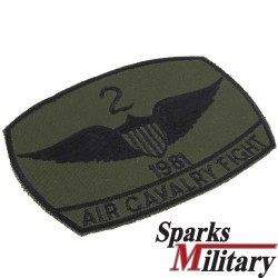 2nd ACR Air Cavalry Fight Pocket Patch 1981
