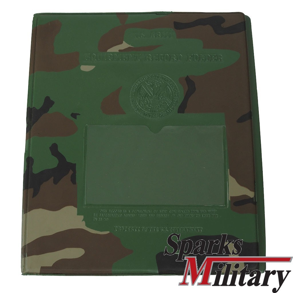 Us Military Equipment Folder Map In Woodland For Vehicles