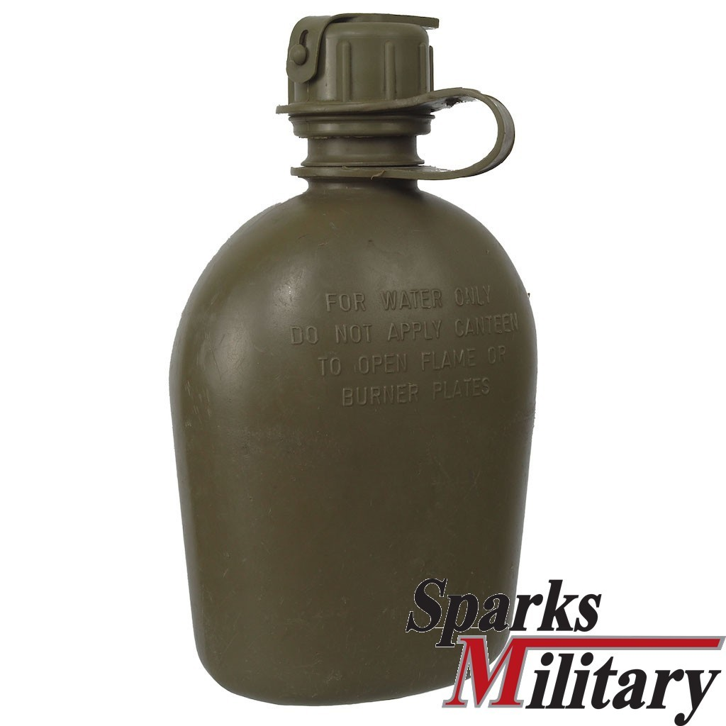 Buy Used 1 Liter Plastic Water Canteen From The Us