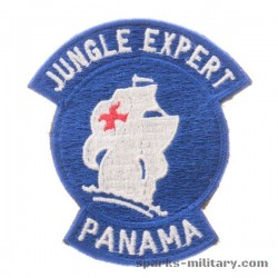 Jungle Expert Panama Patch Color