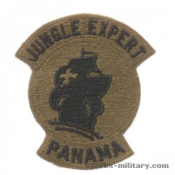 Jungle Expert Panama Abzeichen in Farbe