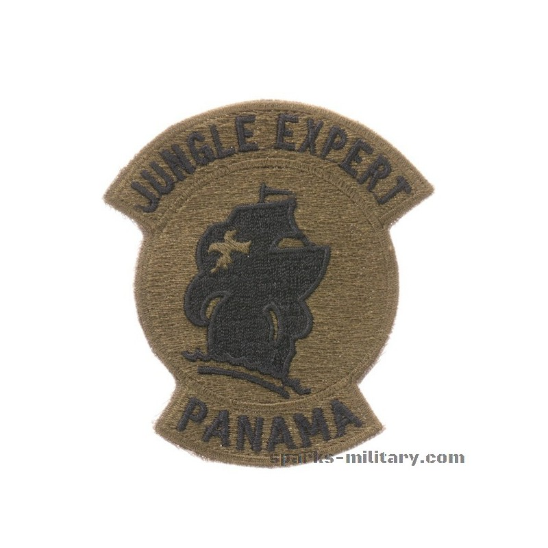 jungle expert panama patch subdued exclusive by sparks military jungle expert panama patch subdued exclusive by sparks military