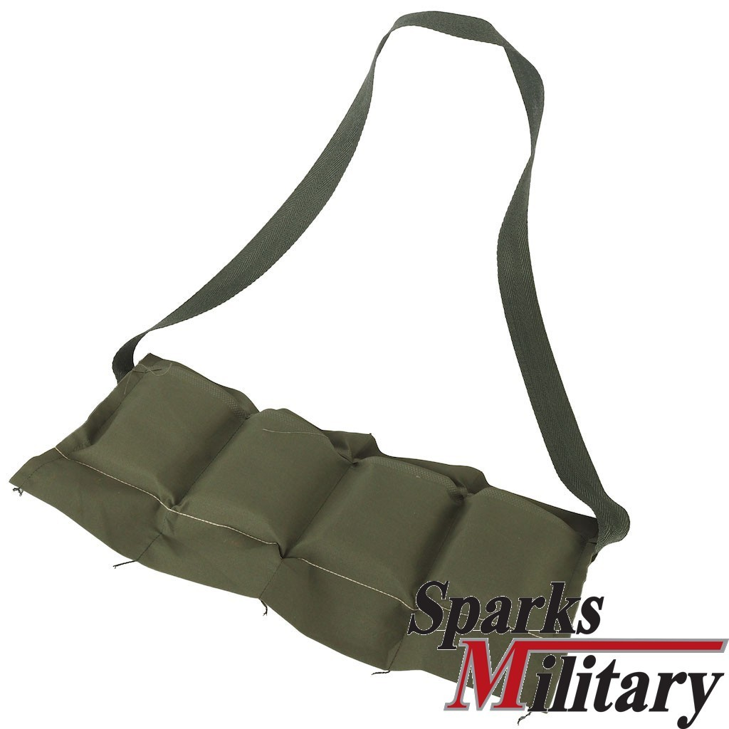 Us Military 5 56 Mm Cartridges 4 Bags Bandolier In Green